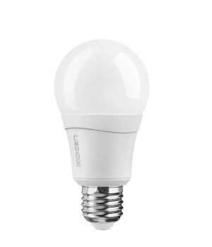 LAMPE LED Classique - Gros culot - Equiv. 60W - Blanc chaud - Double clic