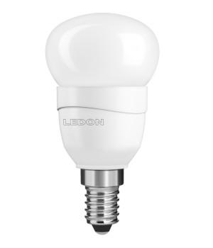 LAMPE LED boule - Petit culot - Equiv. 25W - Blanc chaud