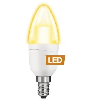 LAMPE LED Flamme - Petit culot - Equiv. 25W - Candlelight